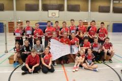 Ehrung der Jugend- und Mini-Mannschaften