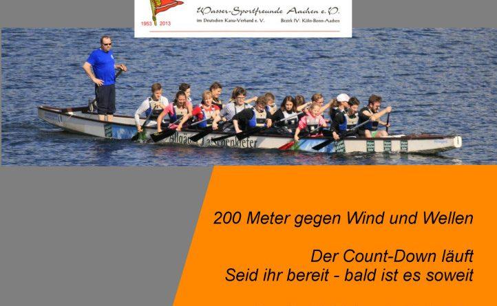 14. Woffelsbacher Drachenbootrennen 2019 – der TV Kall ist dabei